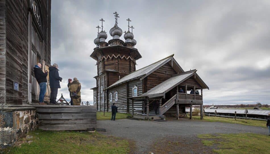 """Покровская церковь. Фото: музей """"Кижи"""""""