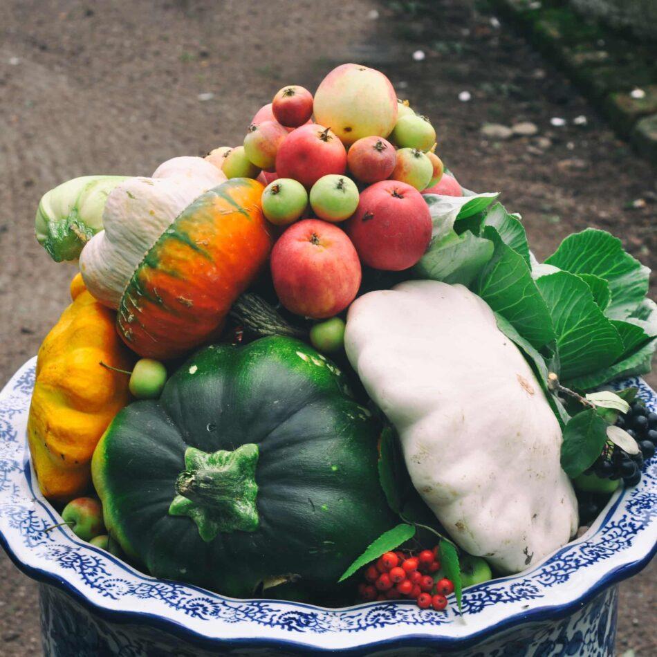 Вокруг усадеб - дворцов были огороды. Осенью урожай свозили в эти вазы Фото анны Кондюковой