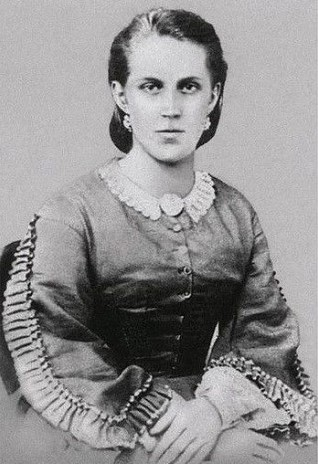 А.Г. Достоевская. Фото А. Лушева, 1860-е годы