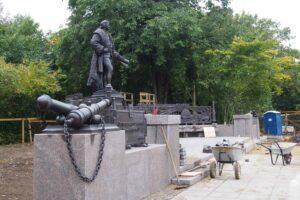 Памятник Чарльзу Гаскойну. 14 сентября 2021 года. Фото Ирины Ларионовой