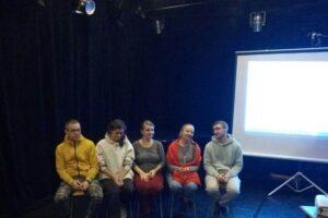 Слева направо: Владислав Тимонин, Екатерина Швецова, Светлана Романова, Марина Збуржинская, Олег Романов