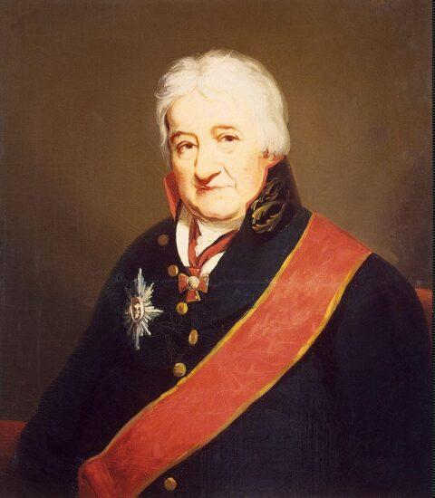 Джеймс Сэксон. Карл Гаскойн, портрет не ранее 1804 года. Государственный Эрмитаж