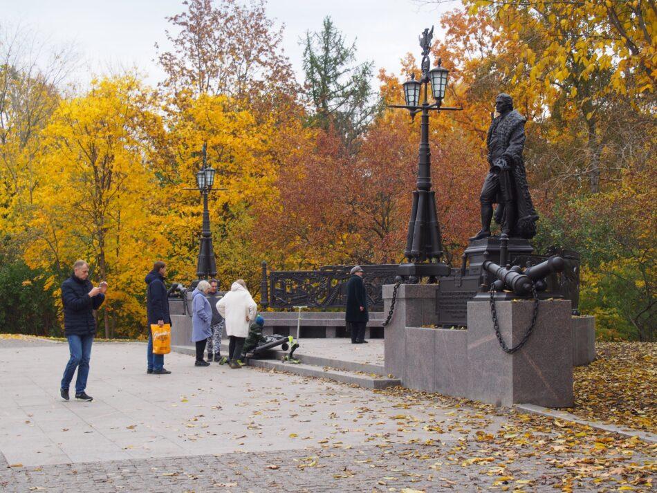Памятник Гаскойну в Петрозаводске. Фото Ирины Ларионовой