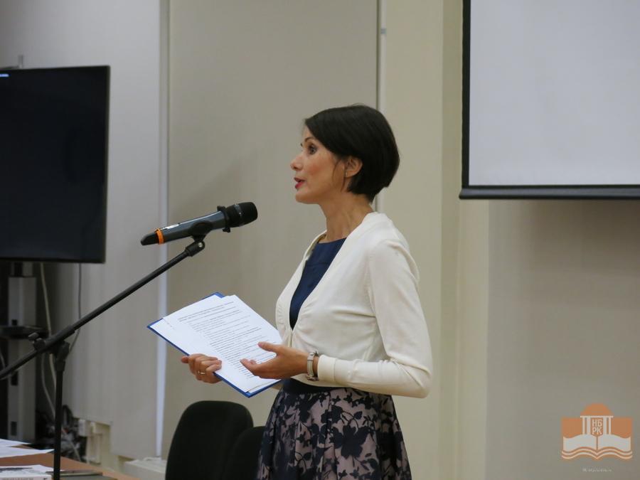 Наталья Лайдинен. Фото: НБ РК