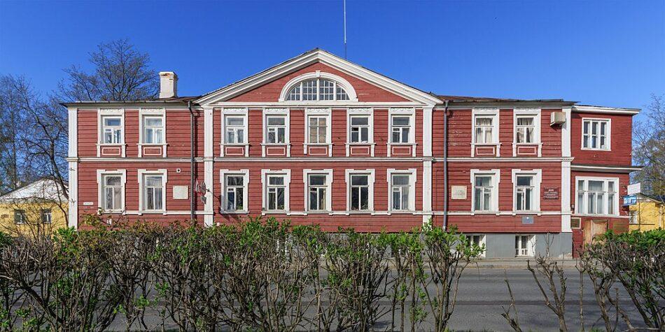 Дом горного начальника в Петрозаводске. В нем с 1786 года жил Чарльз Гаскойн, начальник горных заводов края. Фото: А.Савин