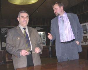 Николай Варухин и Сергей Трояновский