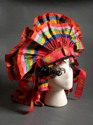 Русский женский головной убор ''Сорока''. Конец XIX века