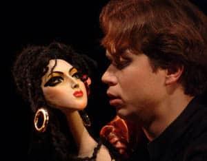 Сцена из спектакля «Маленькие трагедии»