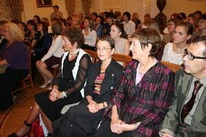Делегация из Ла-Рошели в зале Дворянского собрания