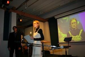 Лауреаты читают свои стихи