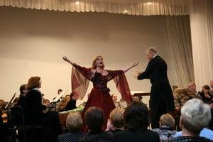 Оркестр имени Андреева в Петрозаводске
