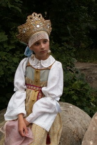 Костюм из коллекции народной одежды