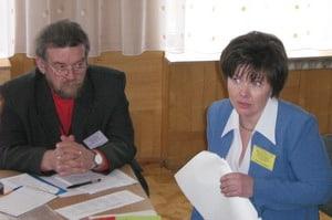 Член жюри Эдуард Алехин после открытого урока Натальи Маркевич