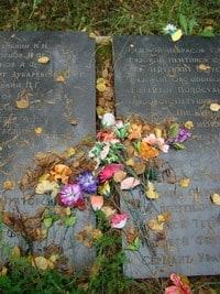 Мемориал павшим воинам. Село Деревянное, 8 сентября 2009 года