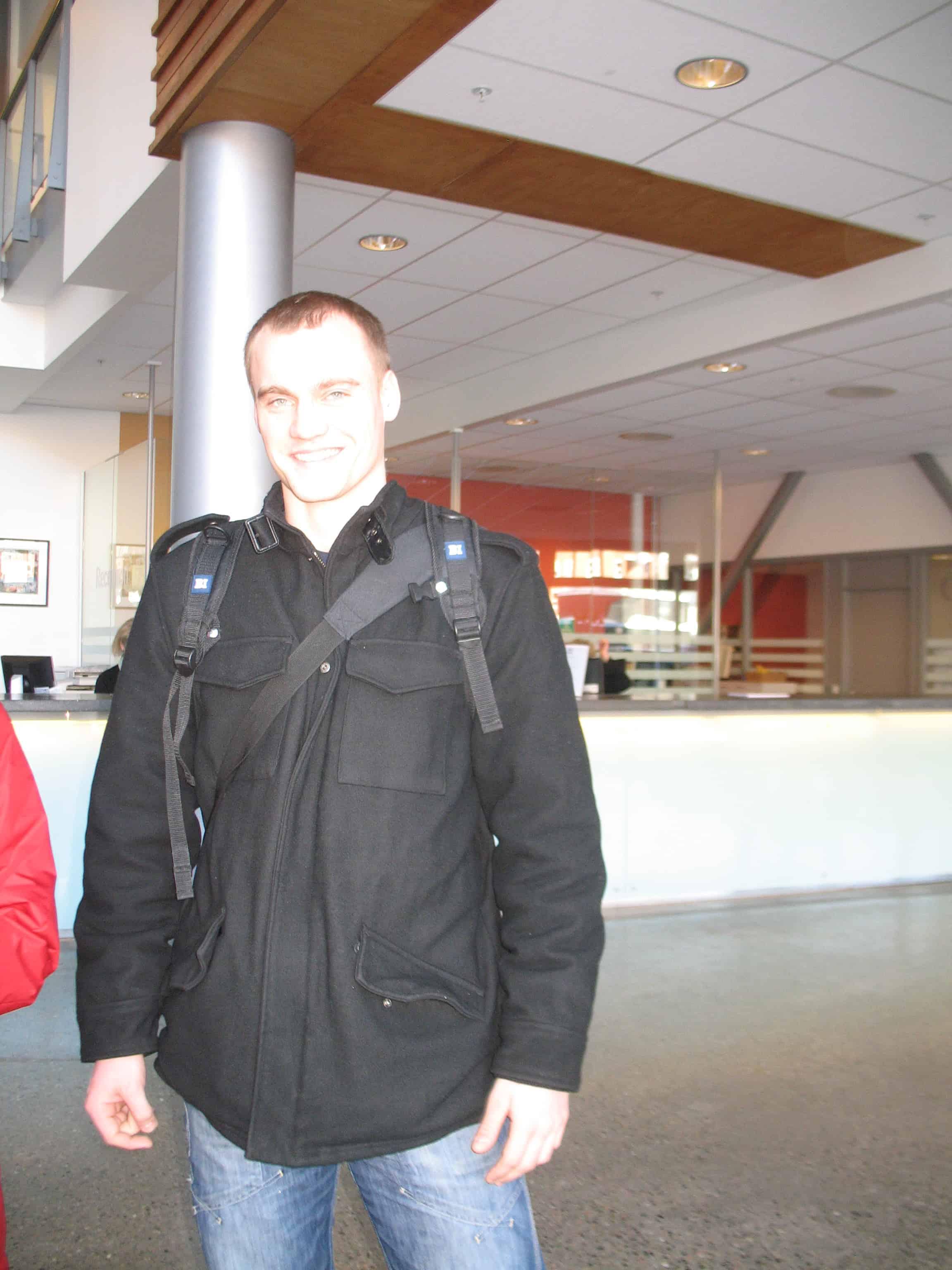 Марк, студент Бизнес-института в Осло