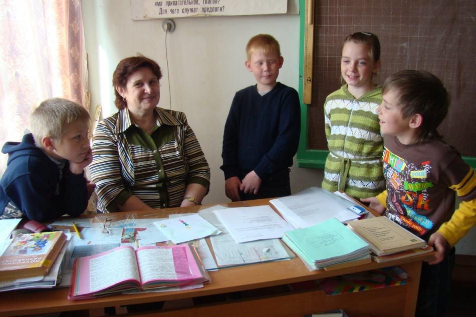 Надежда Кирилловна Логинова, учитель начальных классов и карельского языка