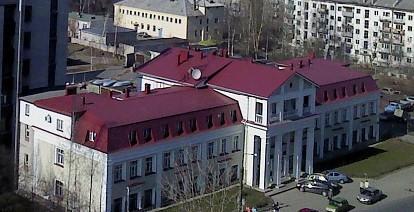 Бывшее здание филиала Академии наук после надстройки