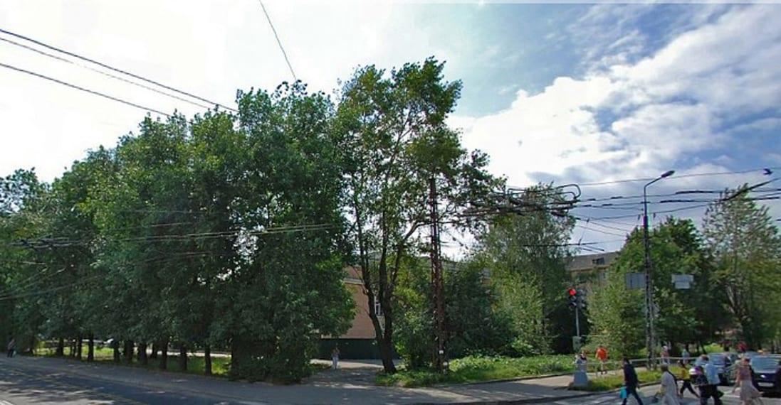 За деревьями забыли здание и похоронили еще живым
