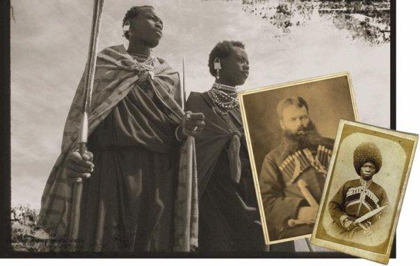 Ашинов и жители Эфиопии.Они могли стать русскими подданными