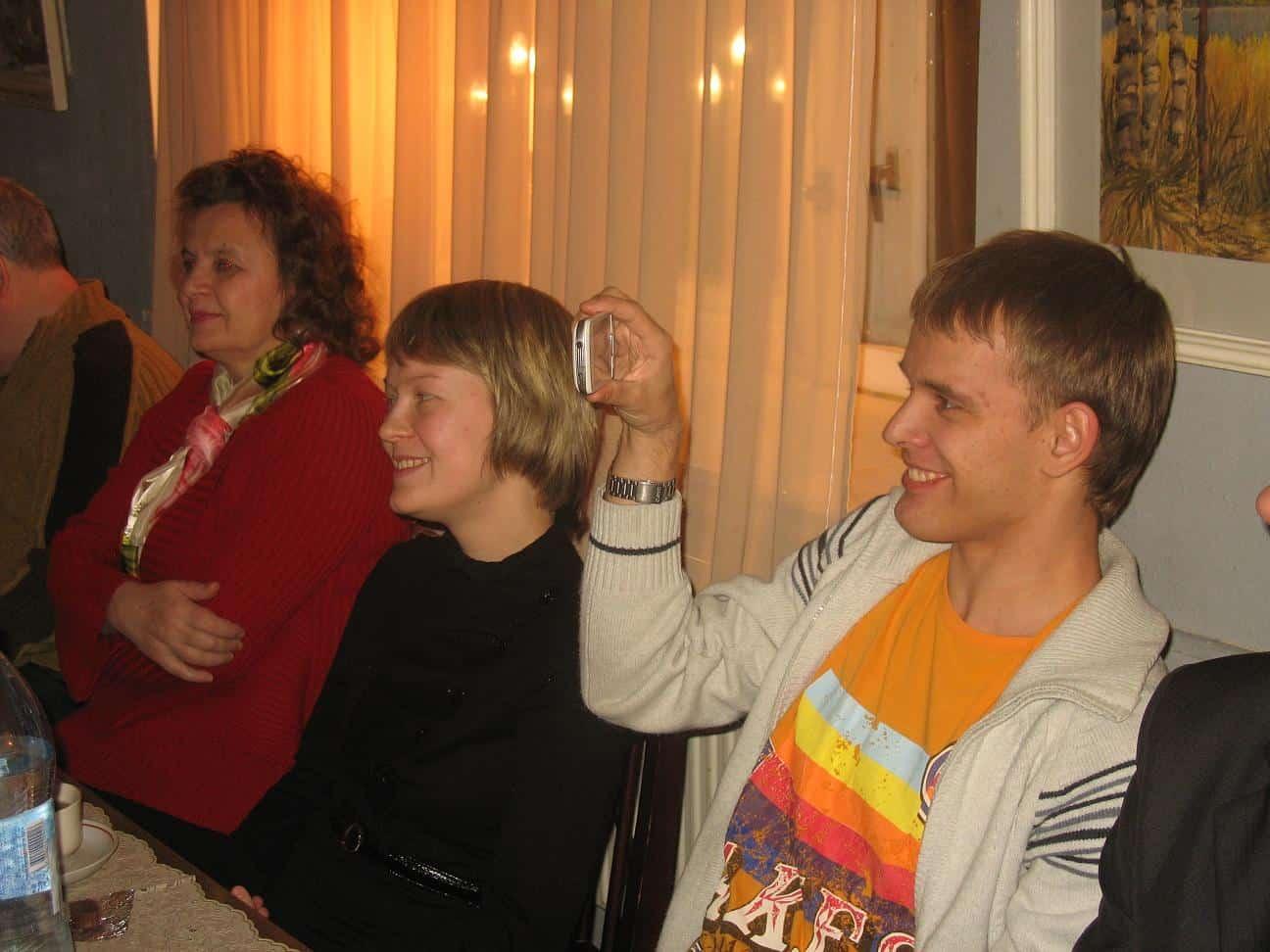 Светлана Артемьева, Мария Голубева и Михаил Мешков