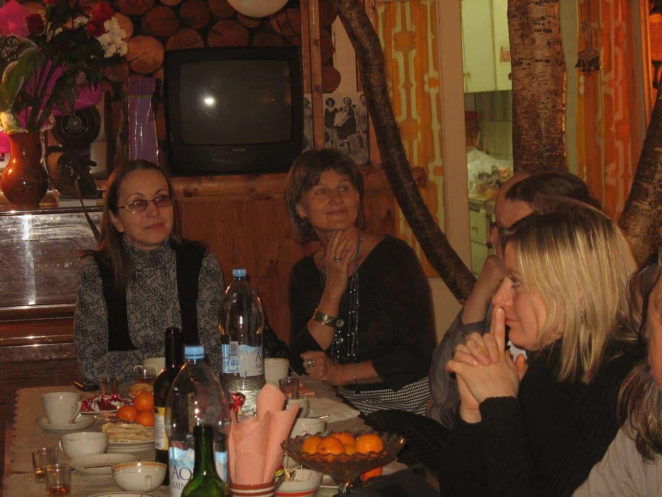 Наталья Мешкова, Ирина Ларионова и Елена Софиенко