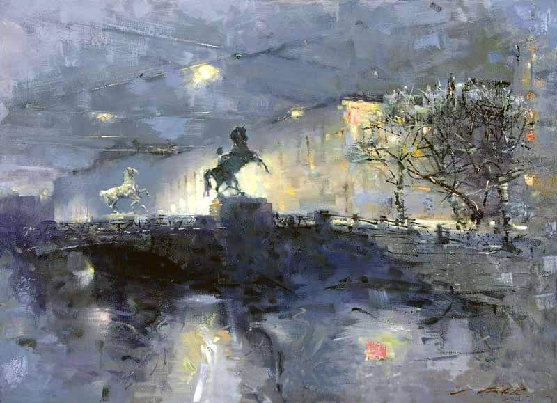 Сергей Сиделев. Белые ночи.