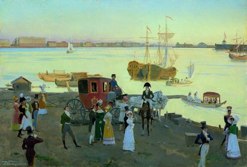 Дмитрий Белюкин. Петербург 1819 года. Начало белых ночей.