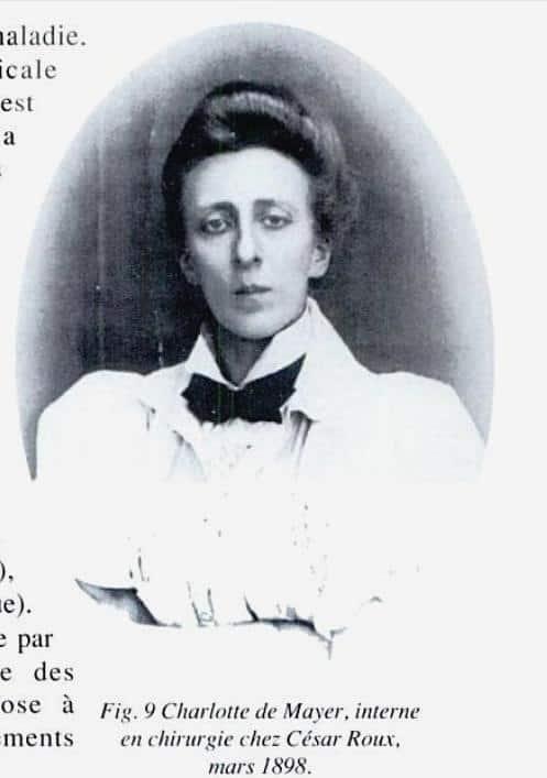 Врач Шарлотта Женни фон Майер