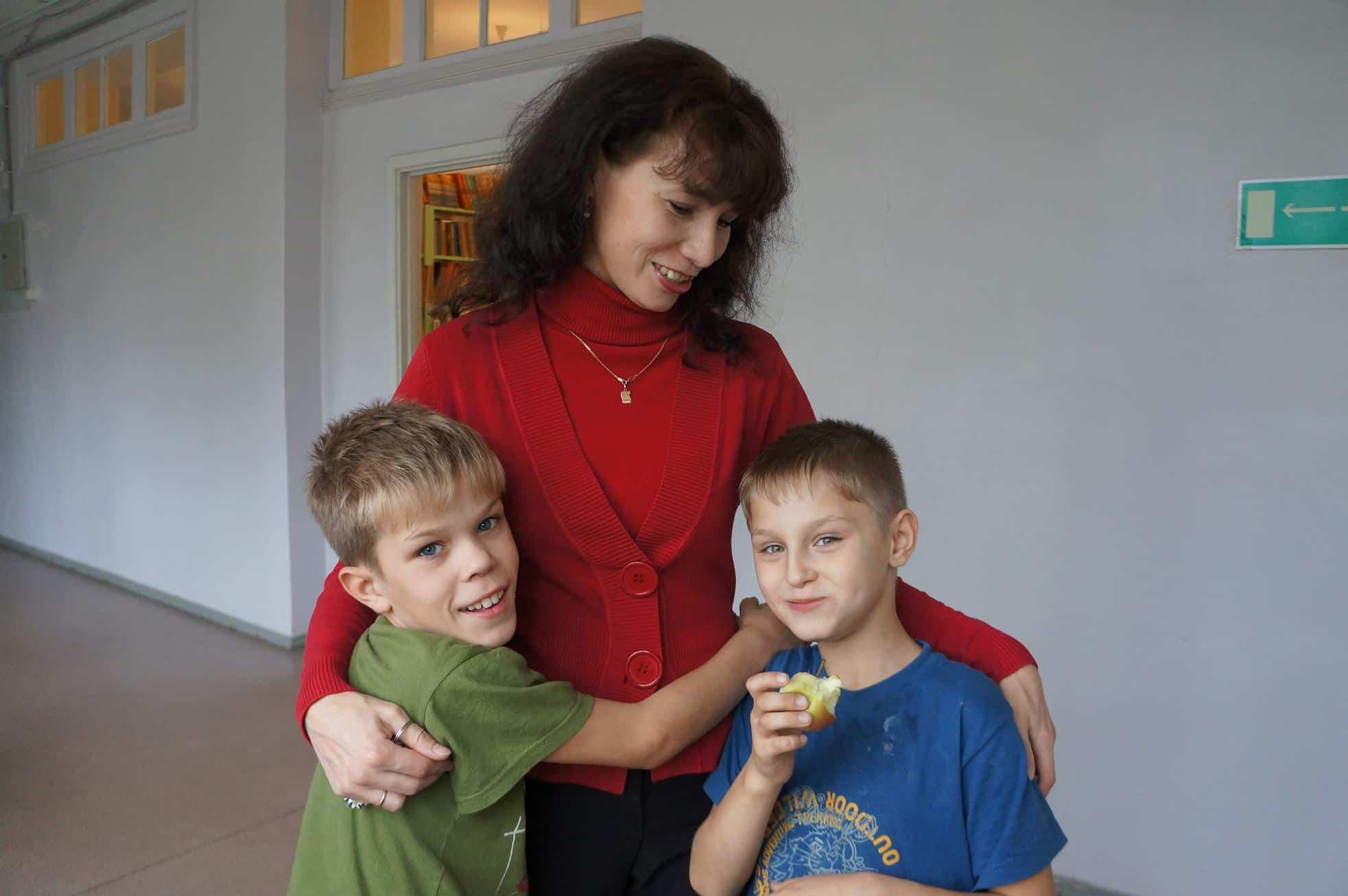 Дети из дед дома фото