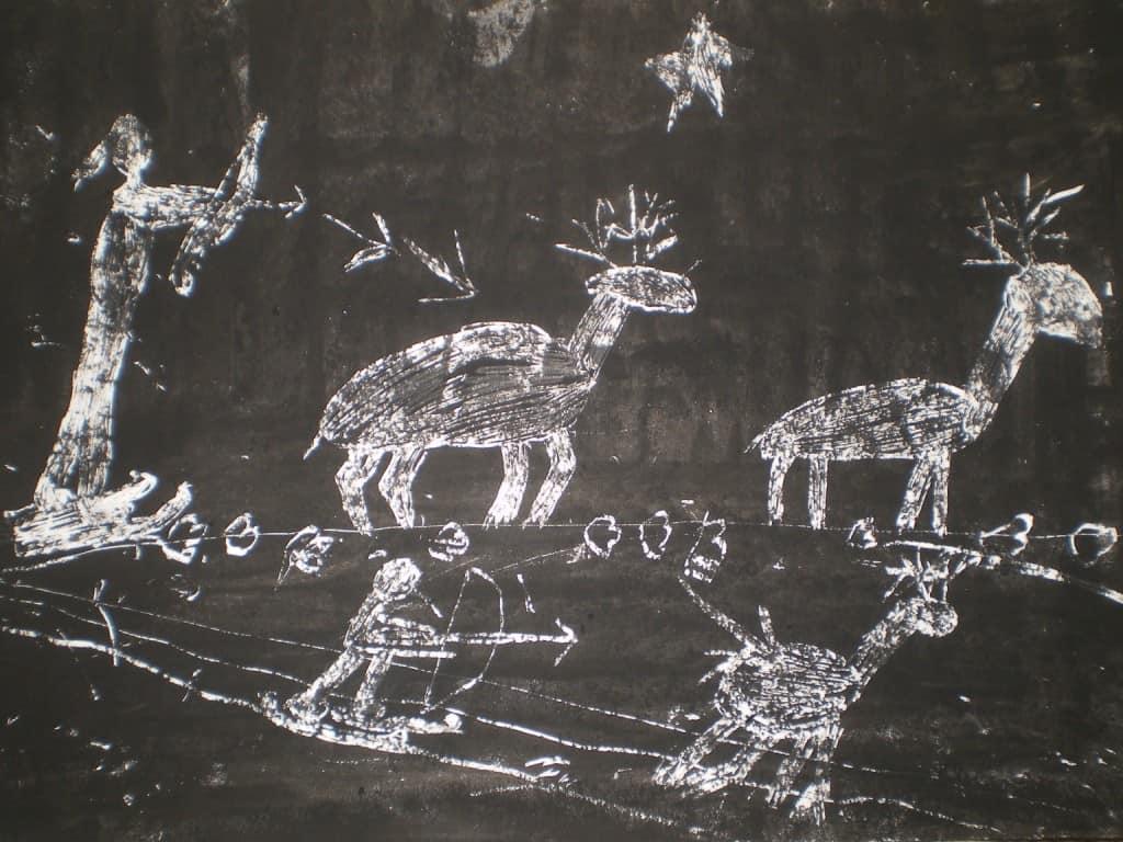 детские петроглифы