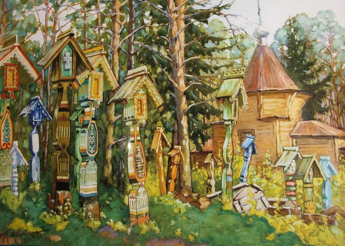 Плотников В. А. Старообрядческое кладбище