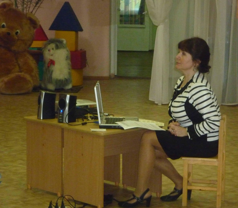 И.Н. Крохина на семинаре в ДОУ