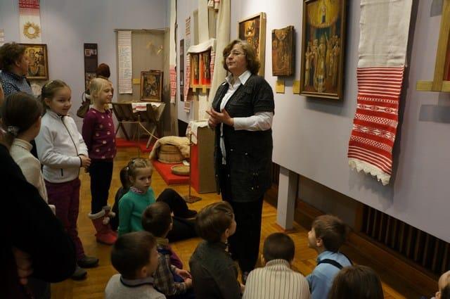 Экскурсия в Минском музее на выставке икон