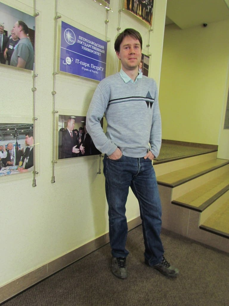 Павел Соболев. Фото из личного архива