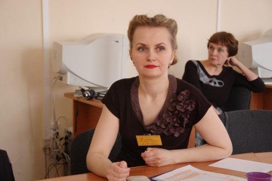 Анастасия Михайловна Западова, учитель истории из школы № 27