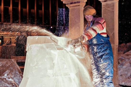 Анна Стручкова. Ледяной ваятель
