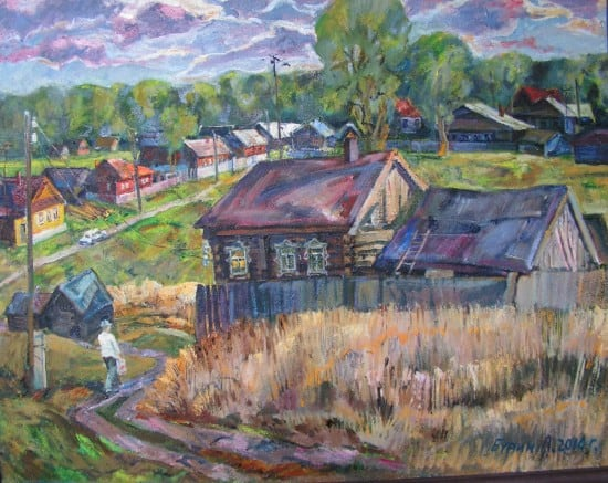 Лев Бурин. Деревня Меньшиково. 2010 год