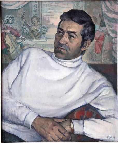 Фолке  Ниеминен. Портрет композитора Э. Патлаенко. 1973 год