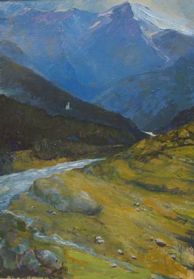 Река Чубрула. 2011