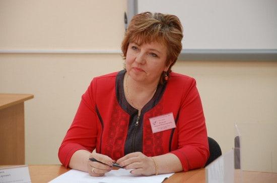Ведущая круглого стола Наталья Волкова