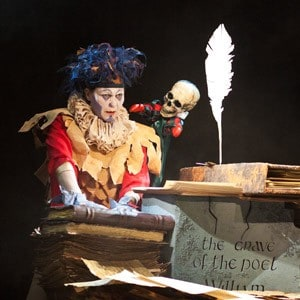 Сцена из спектакля «По Шекспиру». Фото Театра кукол РК