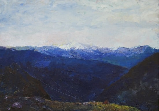 Утро в горах. 2011