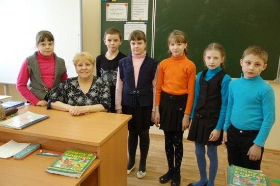 Галина Владимировна Канская работает в школе 45 лет