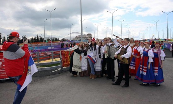 На улицах олимпийского Сочи