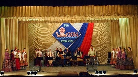 На Днях культуры северных регионов Карелии в Кеми ансамбль показал программу, посвященную народной культуре Заонежья, Пудожгорья и Поморья
