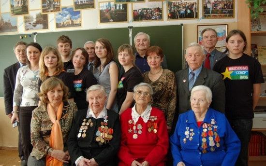 Встреча, посвященная Дню победы. 2011 год