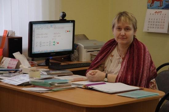 Вера Владимировна Егорова, учитель начальных классов
