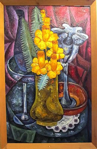 Натюрморт «Желтые цветы»