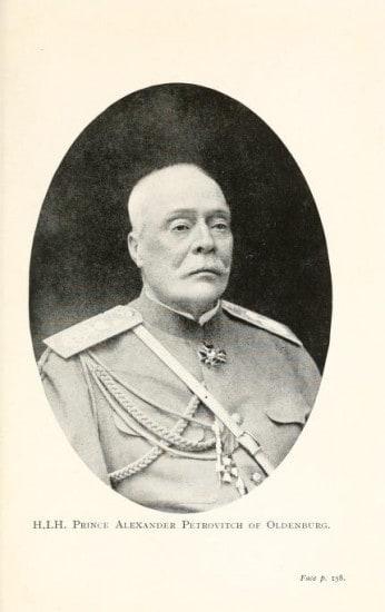 Принц Александр Петрович Ольденбургский.