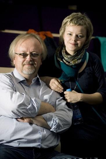 Светлана Семенова и профессор Петрозаводской консерватории Евгений Гурьев